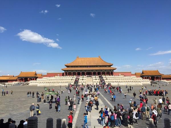 好天出好片,北京故宫一日游 - 684cc7f9bfdc3f93d16f8acd72bd8dc5