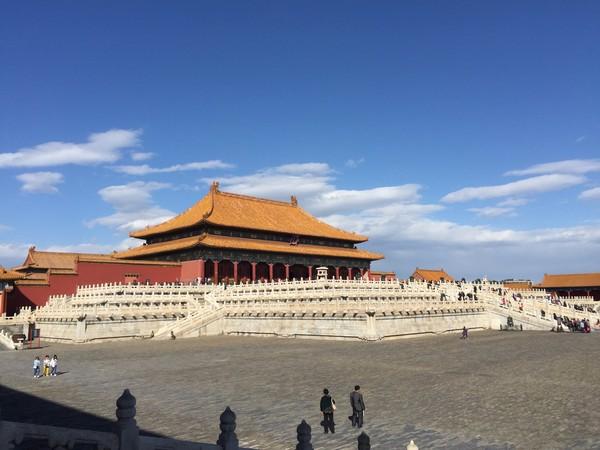 好天出好片,北京故宫一日游 - c45f7b55c86ca1ddd16ec286f2708b97