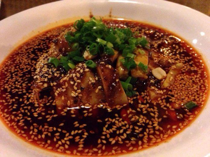 achair推荐美食:口水鸡(北京的渝信川菜饭店) - 20140726 132722 48442940