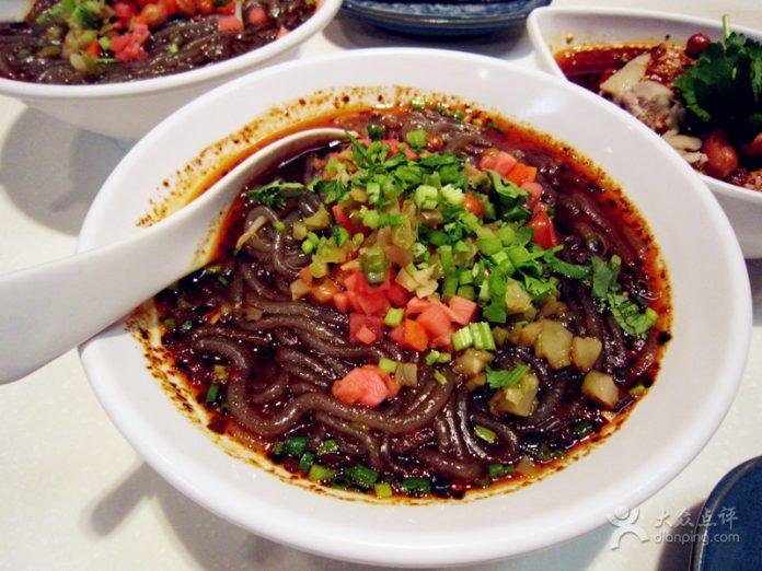 achair推荐美食:眉州东坡饭店的酸辣粉 - mzdpslf