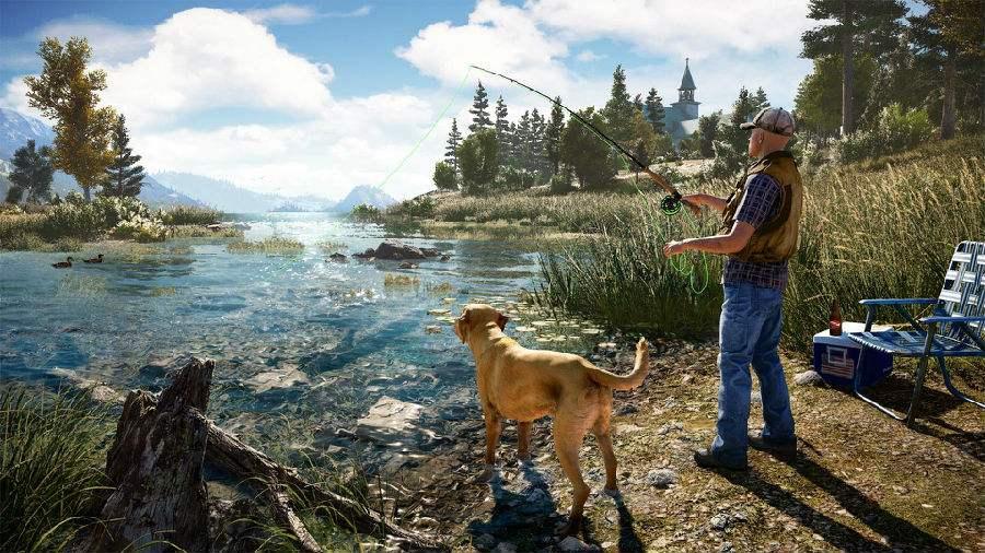achair实测游戏17 GTX760+16G内存跑《Far Cry 5》(孤岛惊魂5) - far cry5