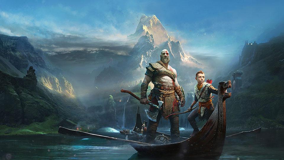 准备要玩的PS4和PC游戏清单 - god of war 960