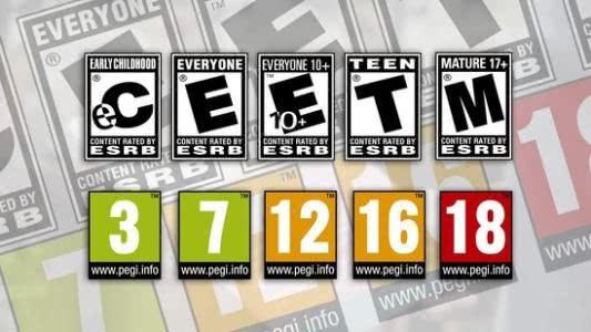 "小朋友看电影和游戏要注意""年龄分级"" - ratings"