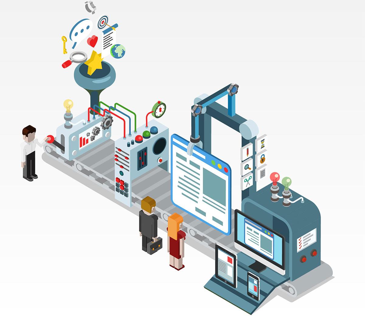 WordPress网站建设流程及各阶段时间 - web design development1200