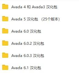 Avada 6.2.3 中文汉化包已更新到网盘 - avada6 cn