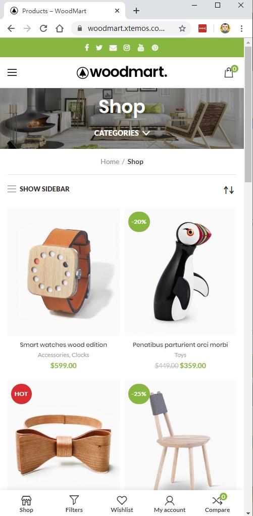WordPress+WooCommerce商城主题 黑五促销 - WooCommerce themes blackfriday 2