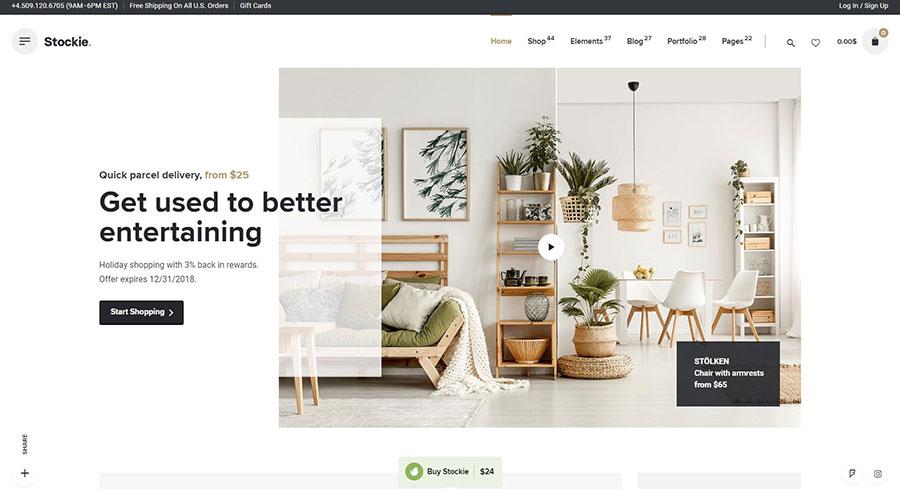 WordPress+WooCommerce商城主题 黑五促销 - WooCommerce themes blackfriday 3