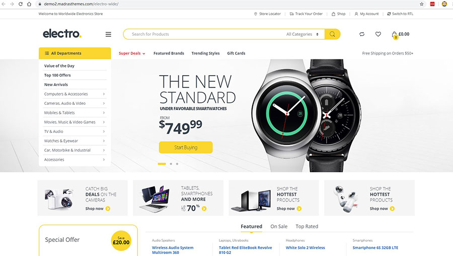 WordPress+WooCommerce商城主题 黑五促销 - WooCommerce themes blackfriday 4