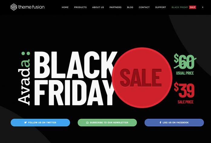 Avada主题39美元 (黑色星期五价格) - avada 2019 black5