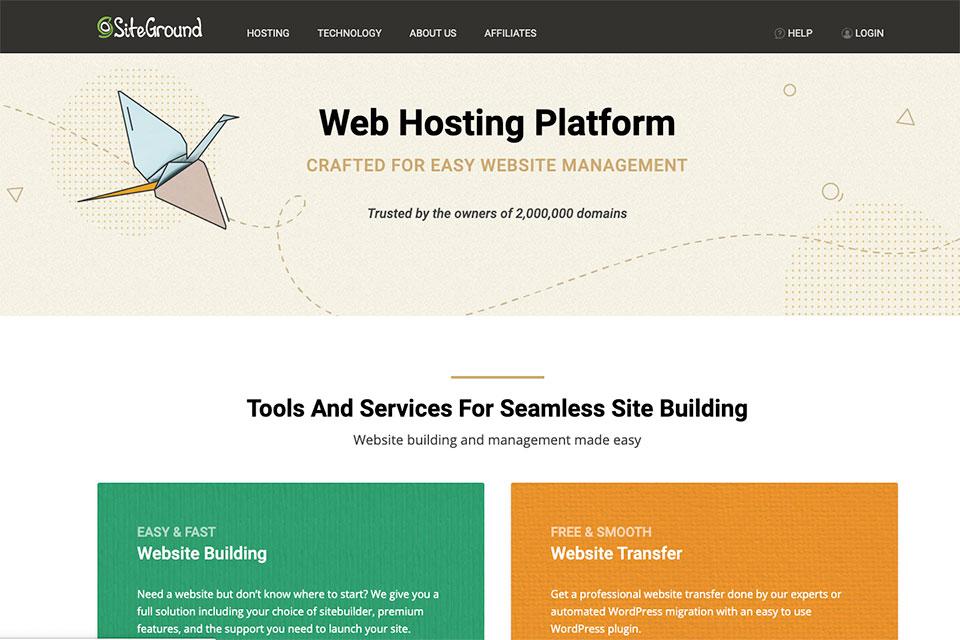 """SiteGround主机""作为""WordPress当前首选虚机""的15个理由 - siteground"