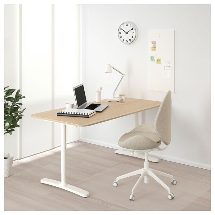 解决宜家IKEA贝肯特书桌各种异响,创造安静工作环境 - bekant2