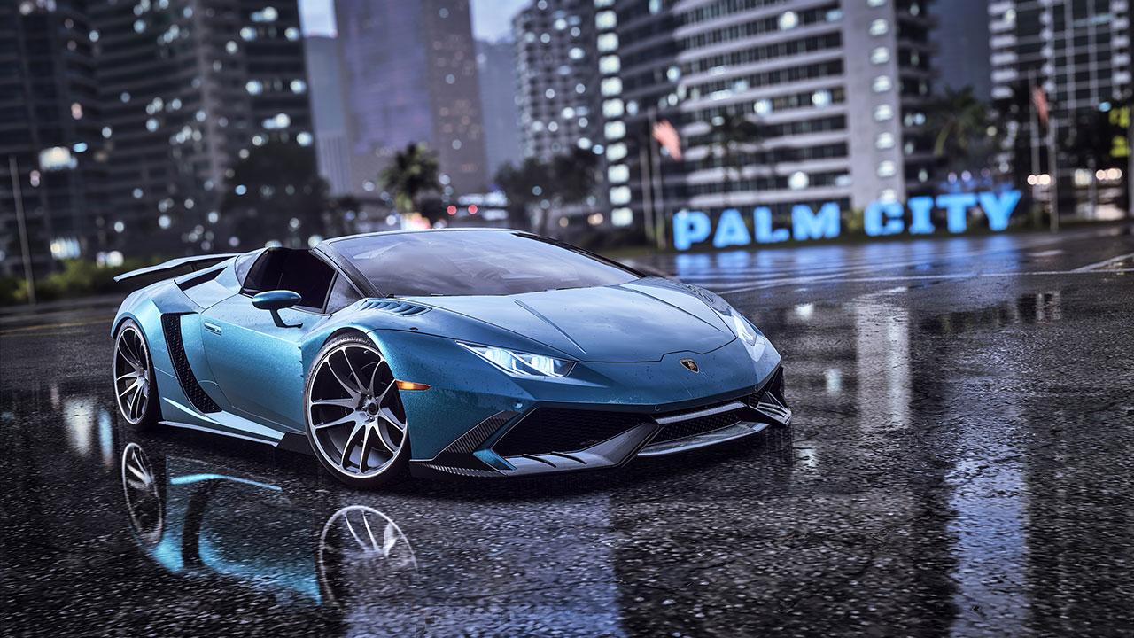 游戏推荐《极品飞车21 热度》,用GTX1060显卡和带鱼屏设置感受 - need for speed heat lamborghini 1280
