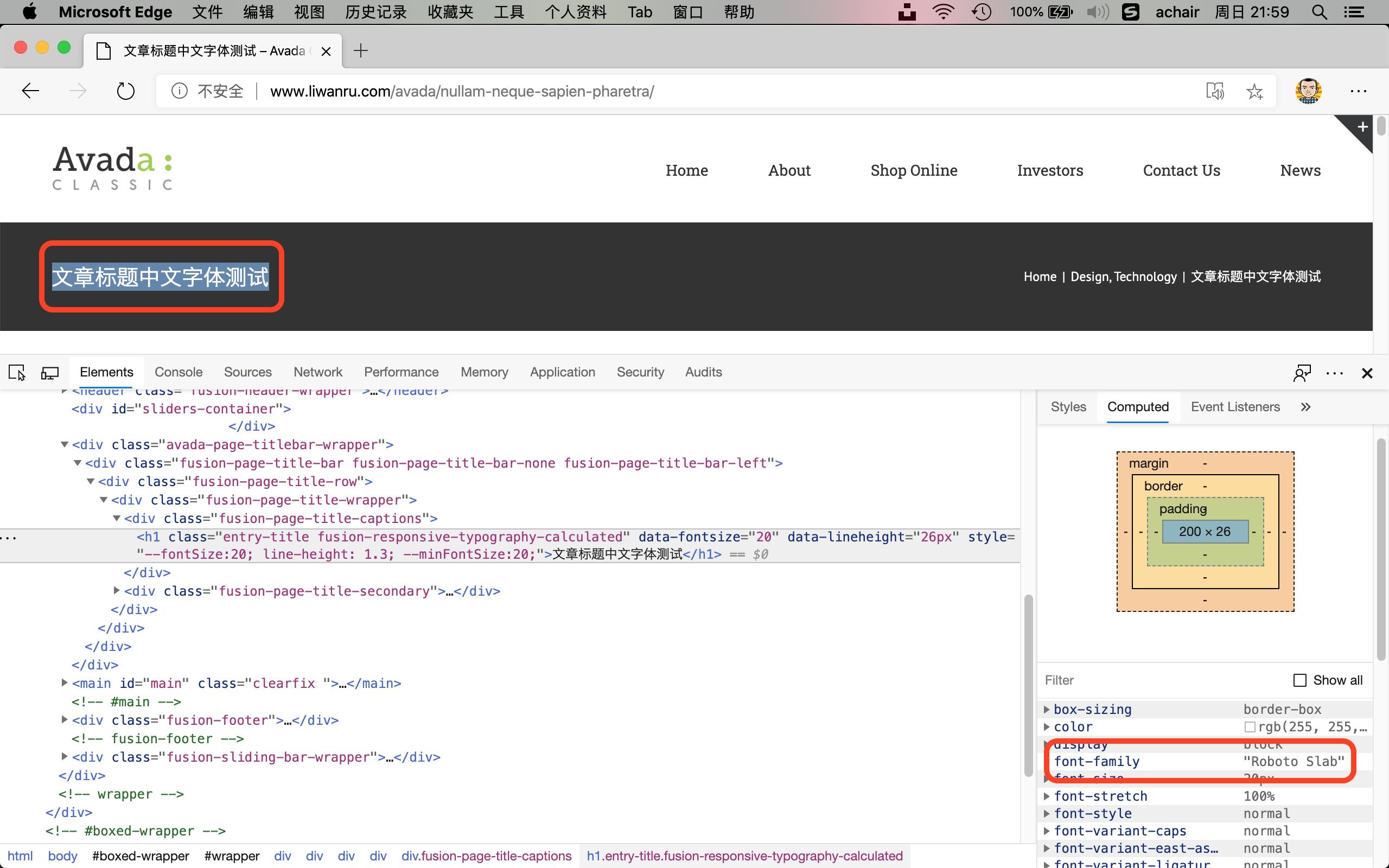 """如何让Avada主题的字体面板选择""""微软雅黑""""字体?(Avada 6.2.2 ) - avada yahei 1"""