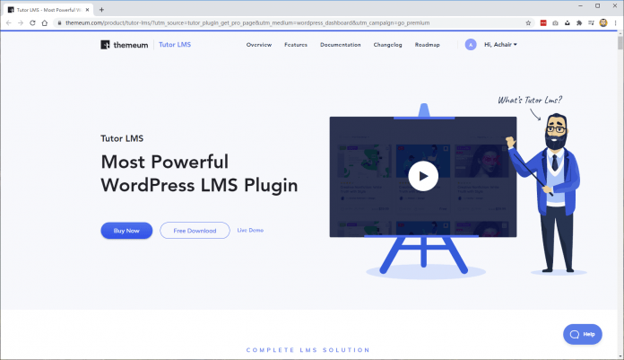"""分享一套免费独立的""""在线教育网站系统""""Tutor LMS - tutor lms 1"""