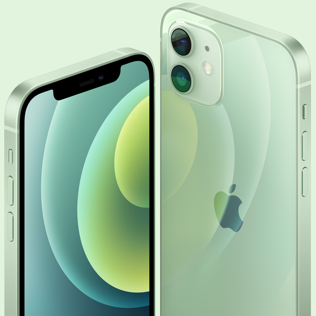 iPhone12和iPhone11主要区别(18项) - design color green