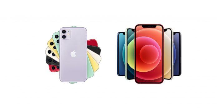 2020年双11手机推荐,价格2000-3000元(第2集 排除20个) - iphone 11 vs iphone 12 scaled