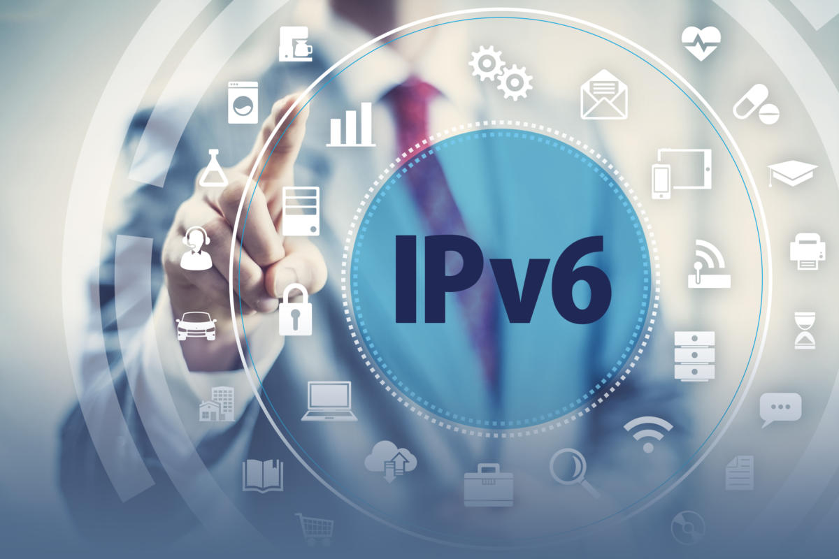 网站如何升级成IPv6?IPv6的服务器要花多少钱?(扫盲篇) - ipv6 wireless network apps smart technology iot 100787197 large