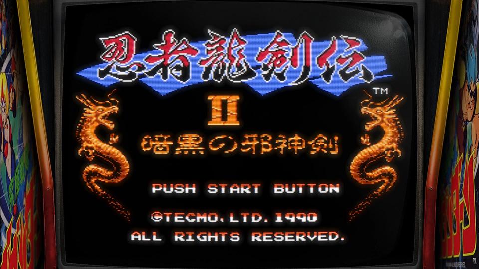 怀旧游戏试玩《忍者龙剑传2》RetroArch模拟器 FC红白机